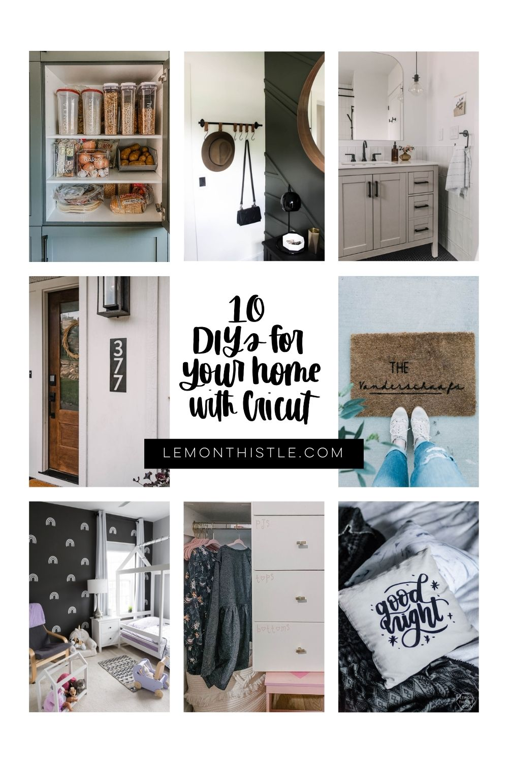 10 DIYs for your Future House Goals