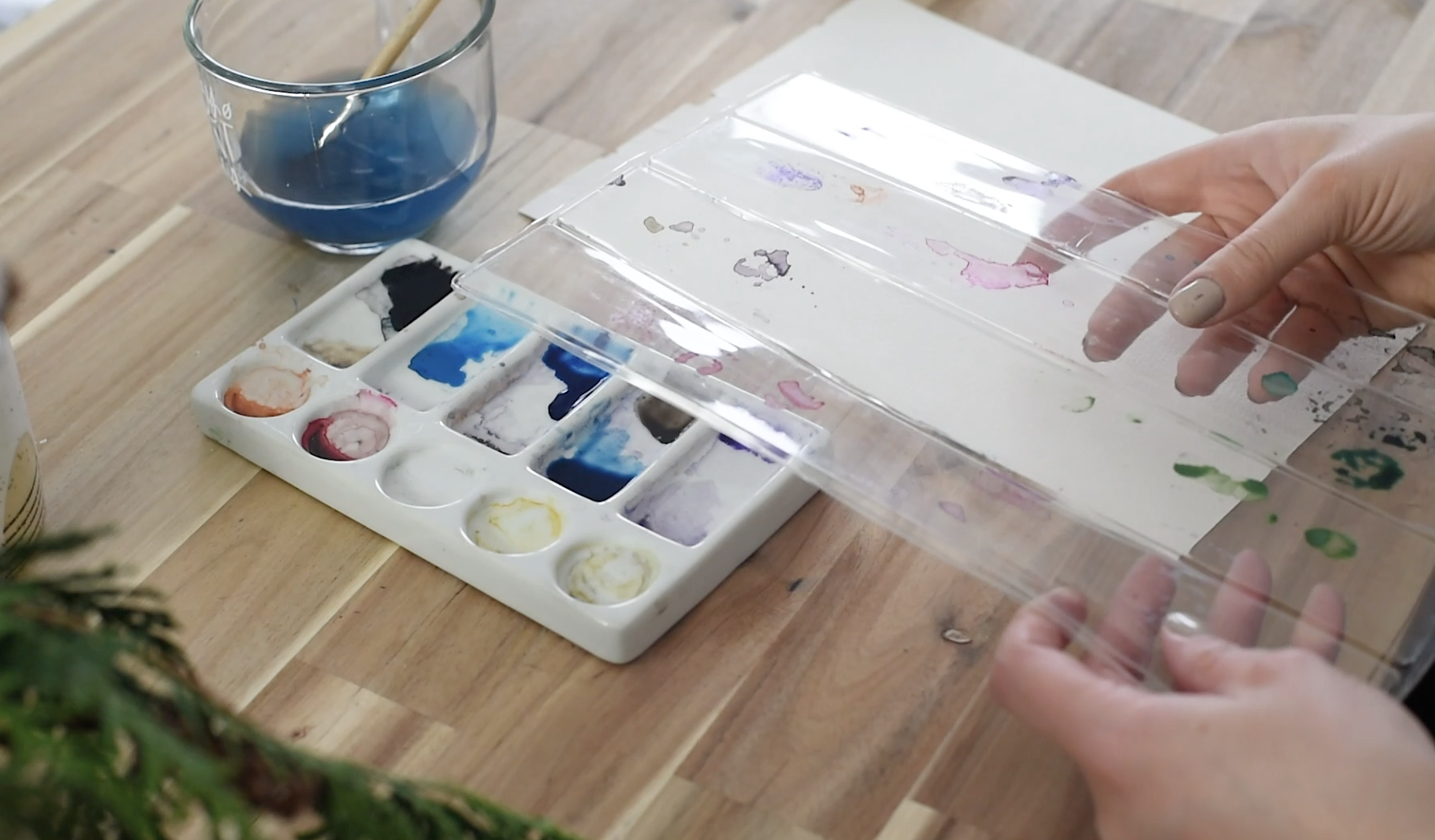 Do you need a palette for watercolour?