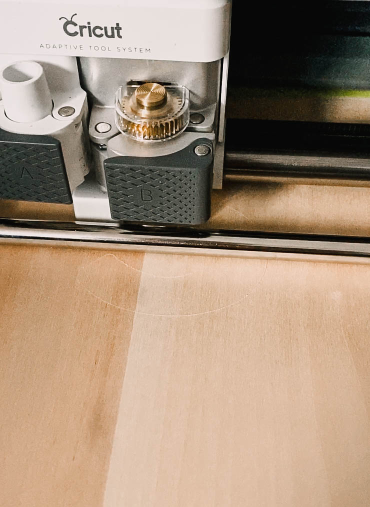 How to cut wood with Cricut