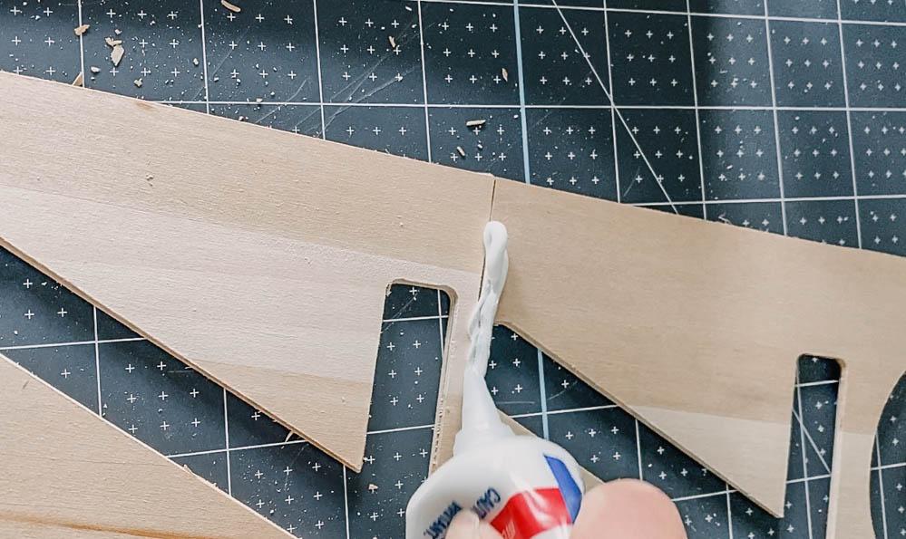 Modern DIY Address Sign from Wood