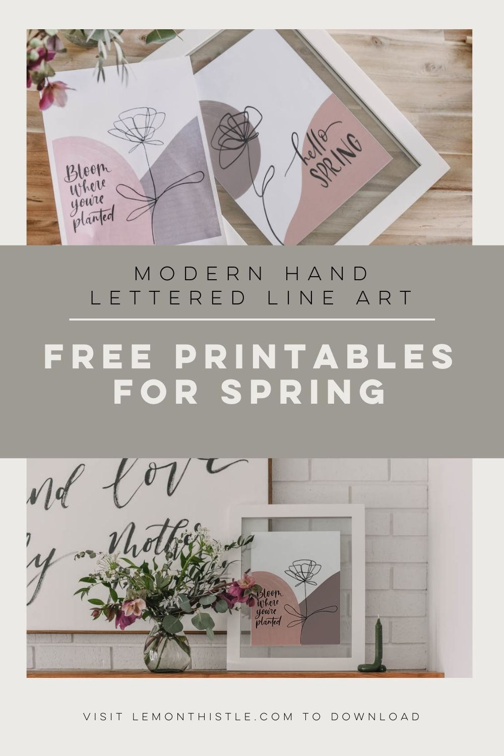 2 Free printables for spring