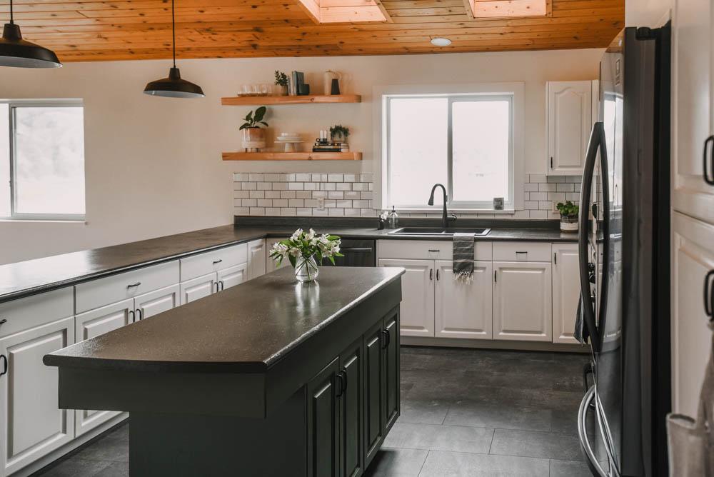 DIY Modern Farmhouse Kitchen