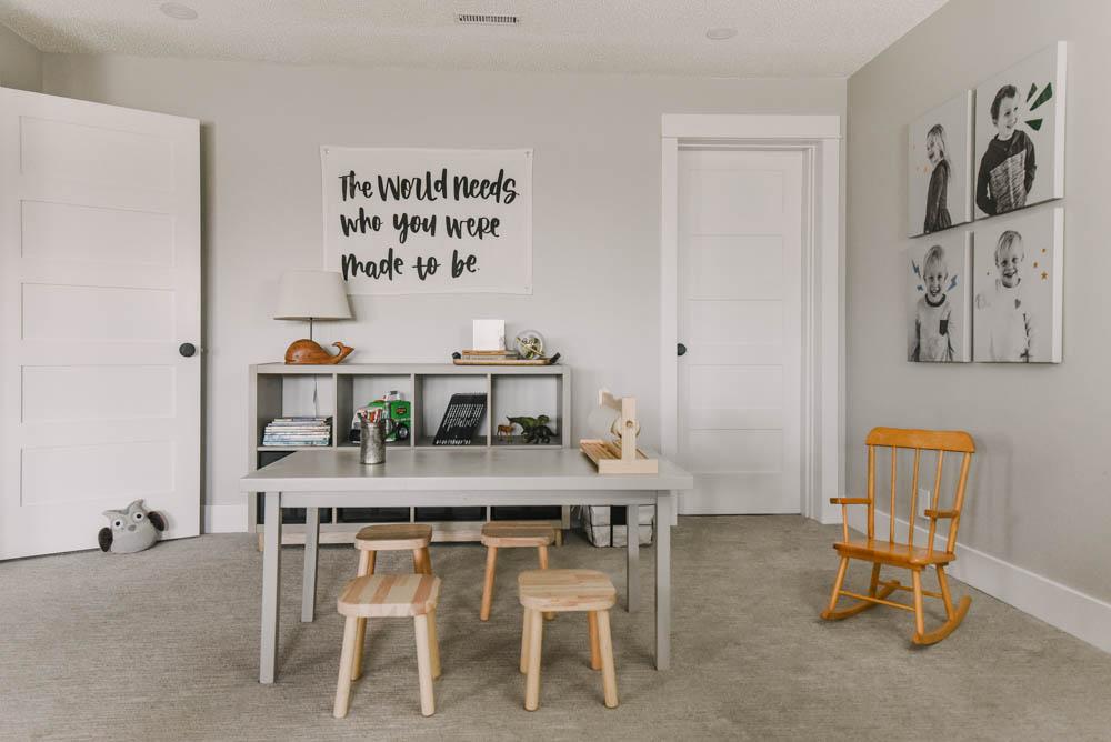 Modern DIY Playroom Makeover