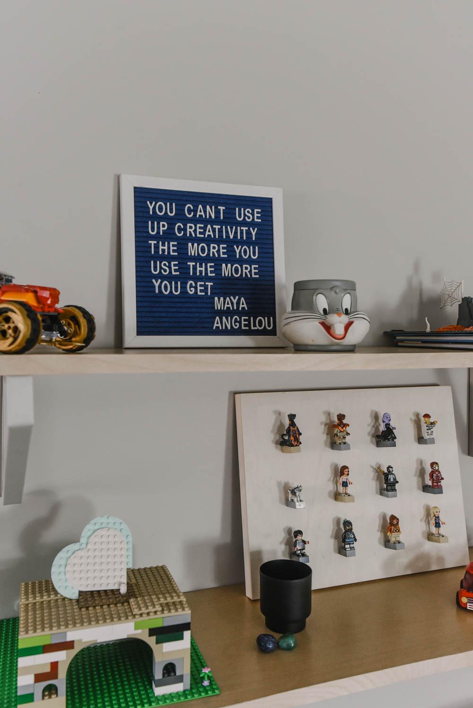 Our DIY Lego Station