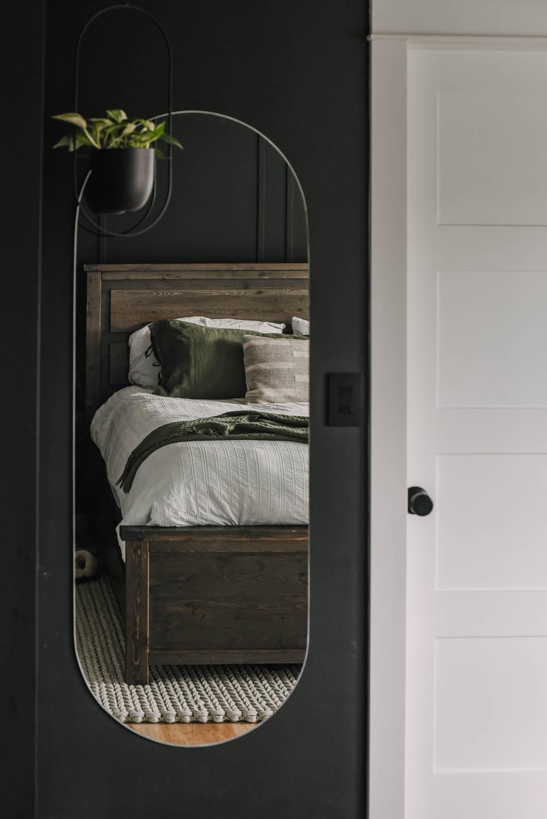 Black Bedroom Makeover