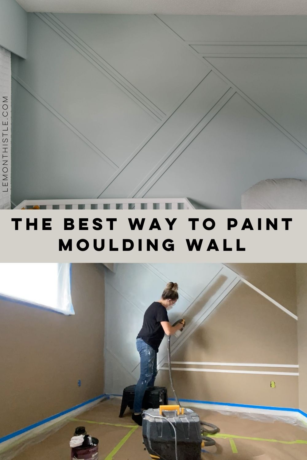 Painting a Moulding Wall
