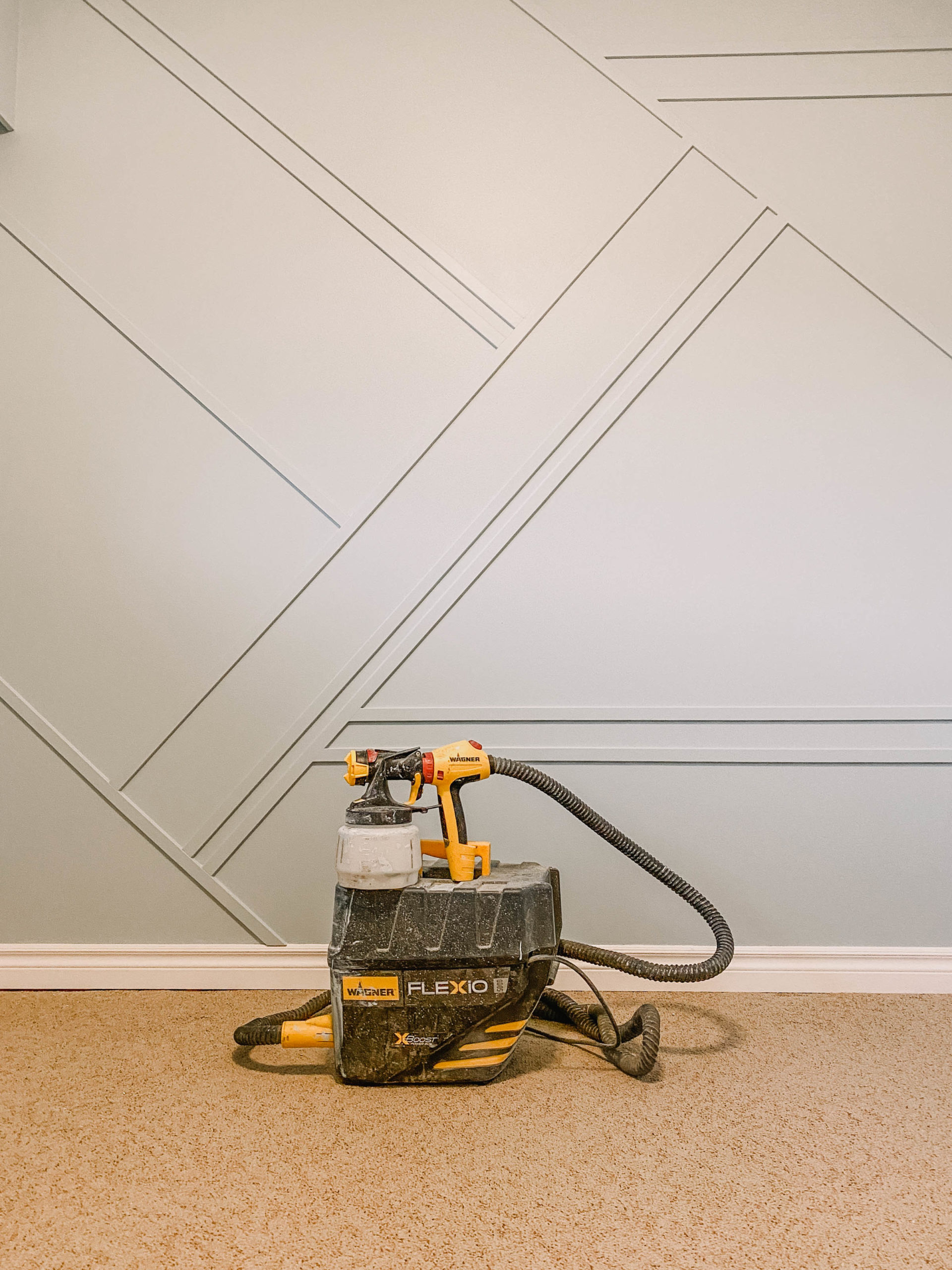 Tips for painting interior walls with a paint sprayer