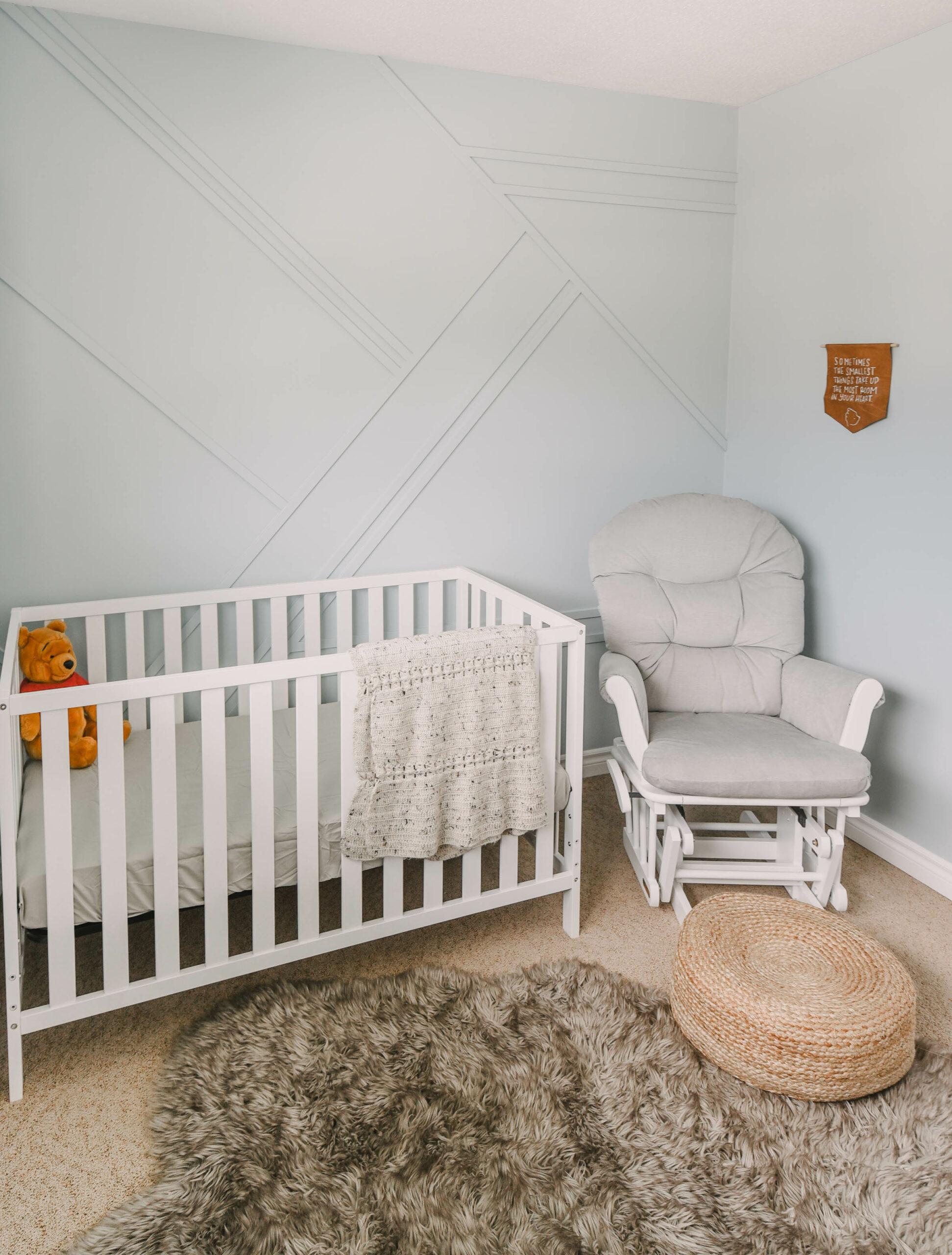 Modern Winnie The Pooh Themed Nursery