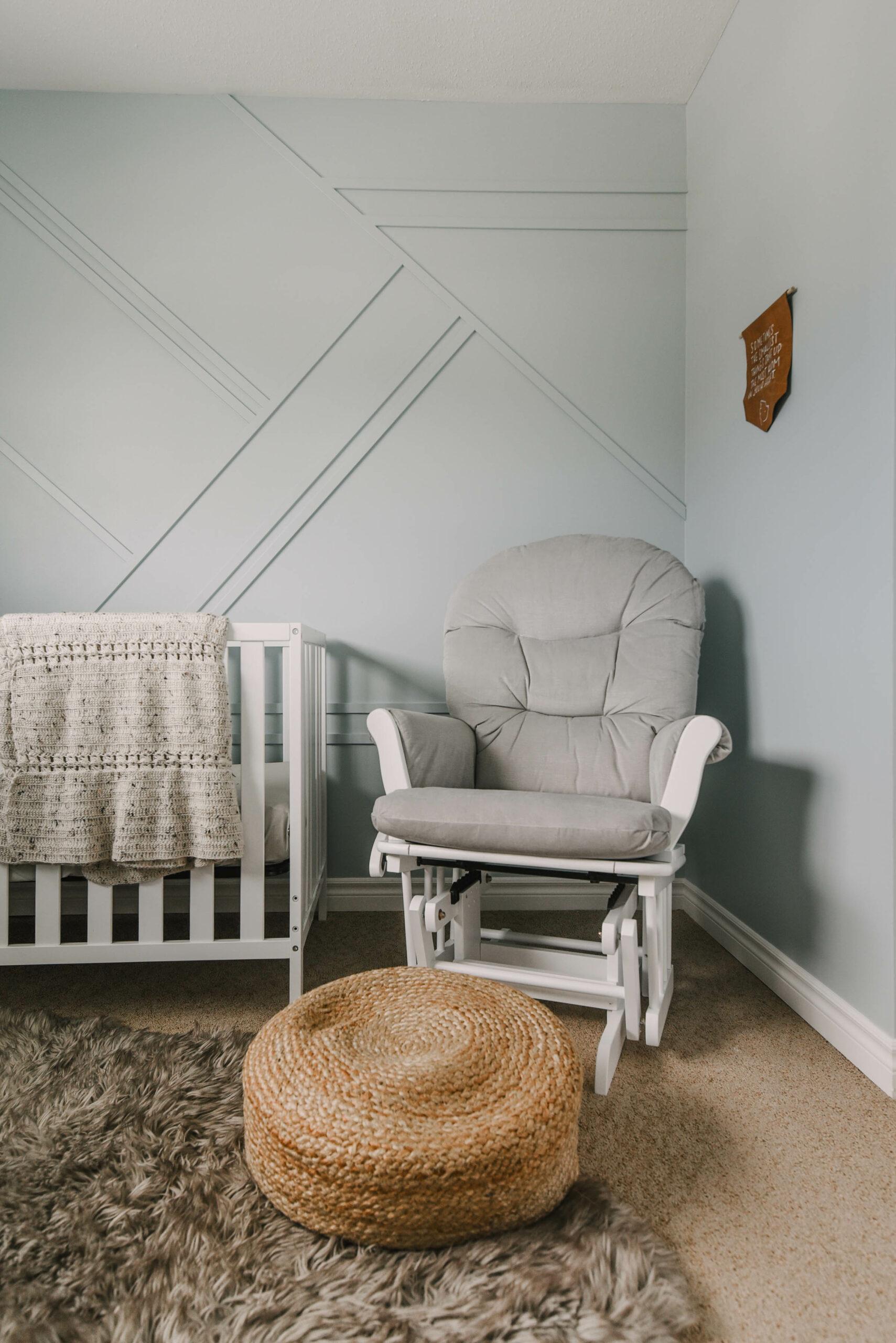 Soft Blue nursery walls
