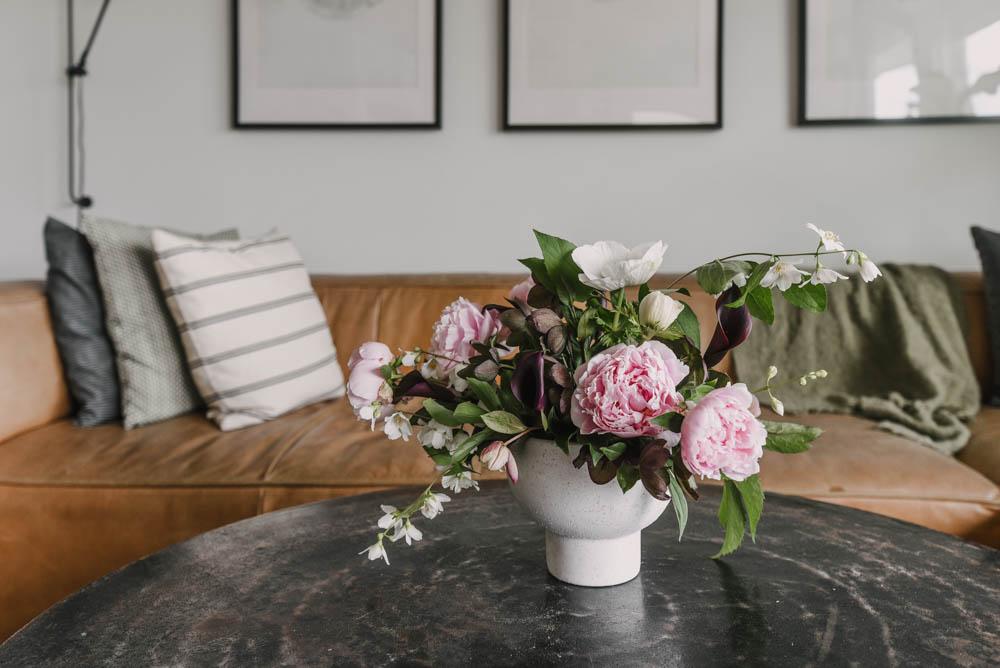 Garden blooms for home decor