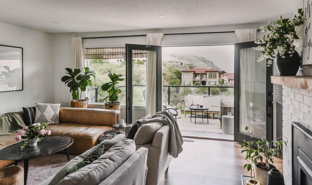 cozy modern home tour