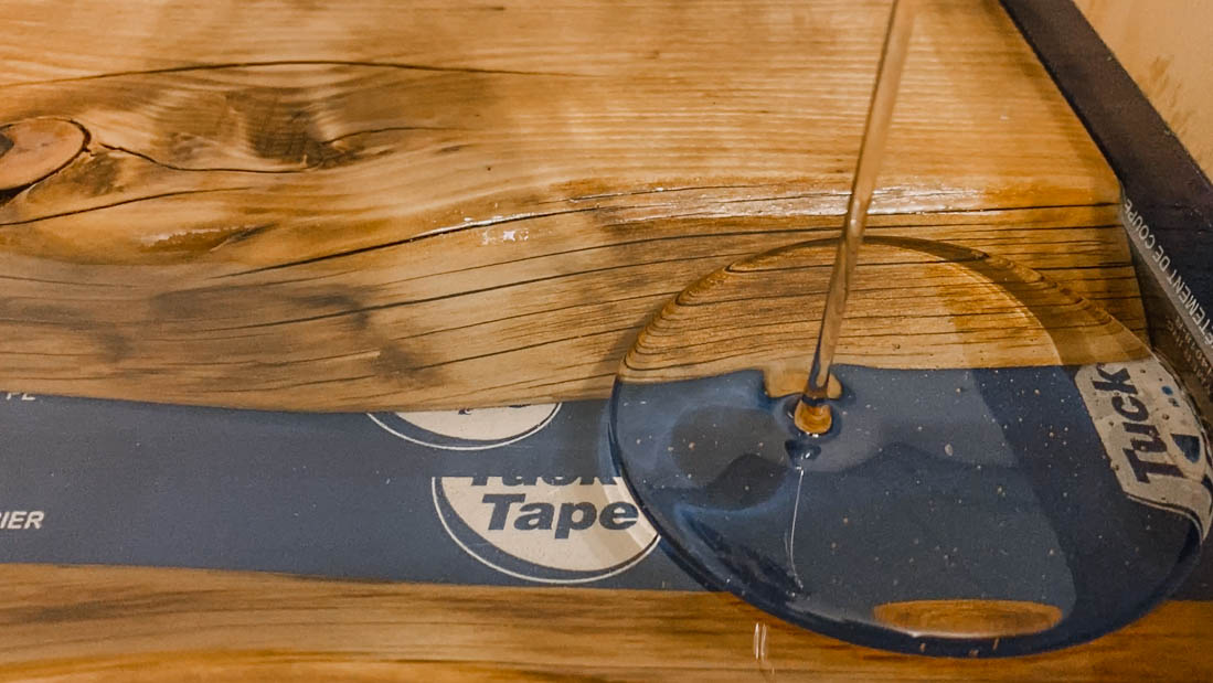 DIY Resin River Side Table