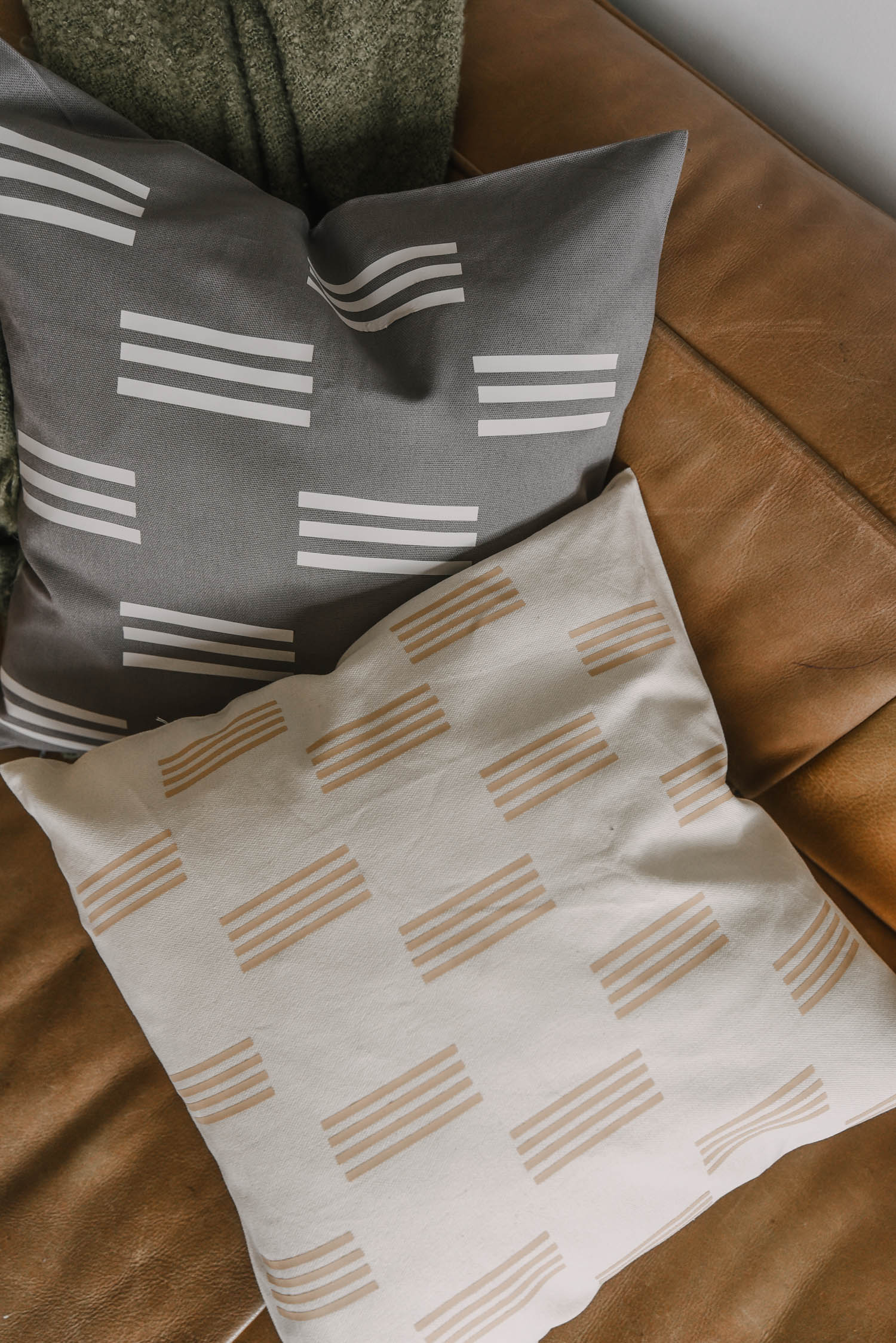 Modern Throw Pillow DIY