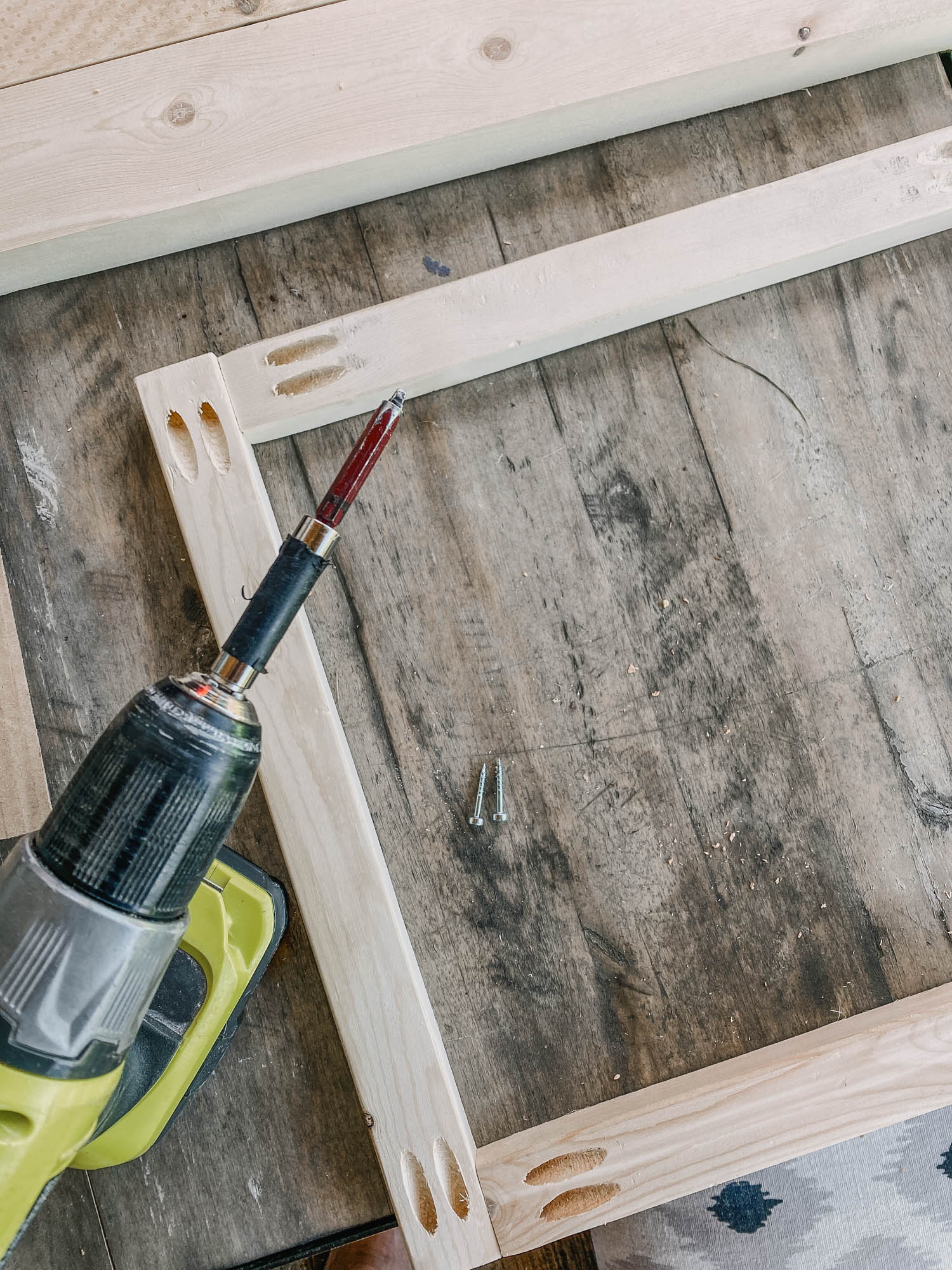 Building a vanity shelf for a small space bathroom