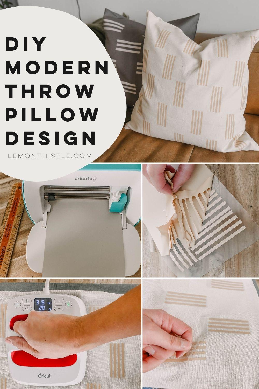 Modern Throw Pillow Design