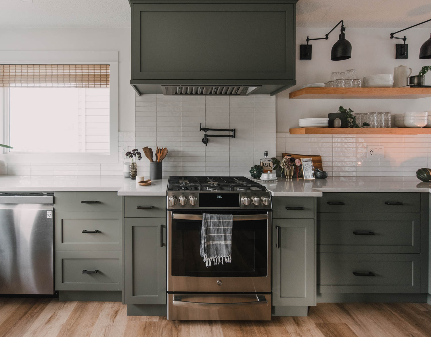 Fall Home Decor in the kitchen