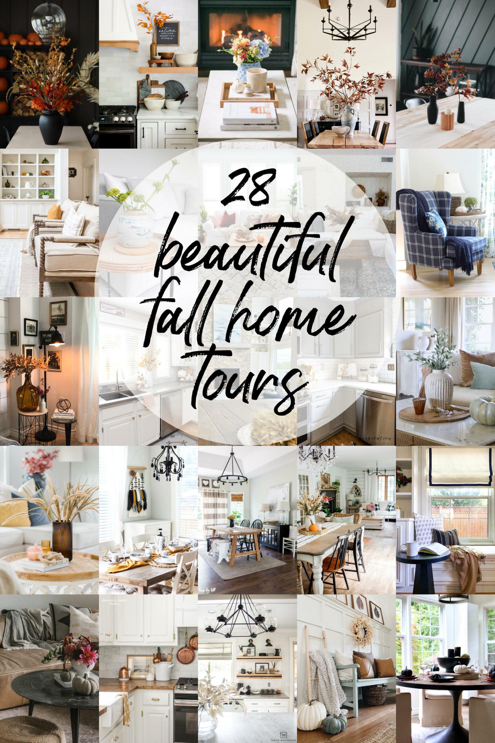 Beautiful Home Decor for Fall