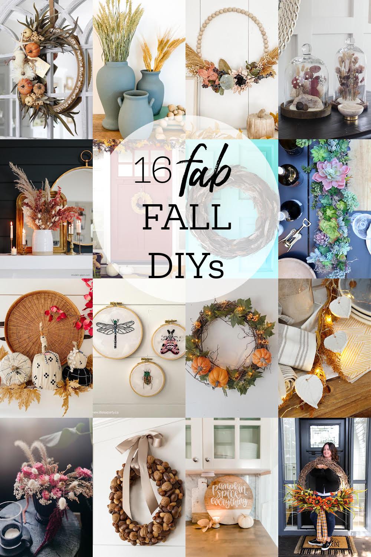 16 Fab Fall DIYs