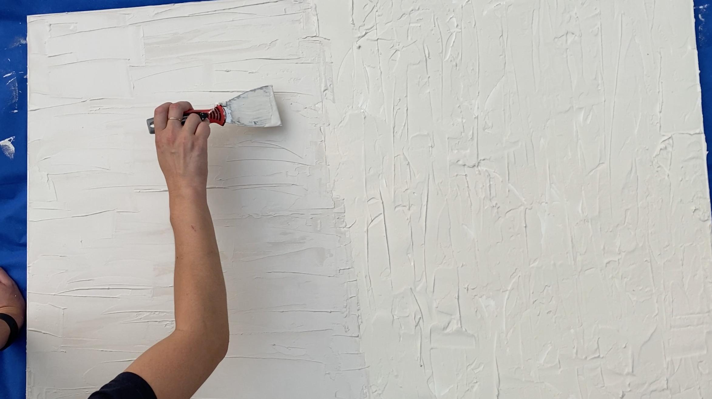 DIY Drywall Compound Art