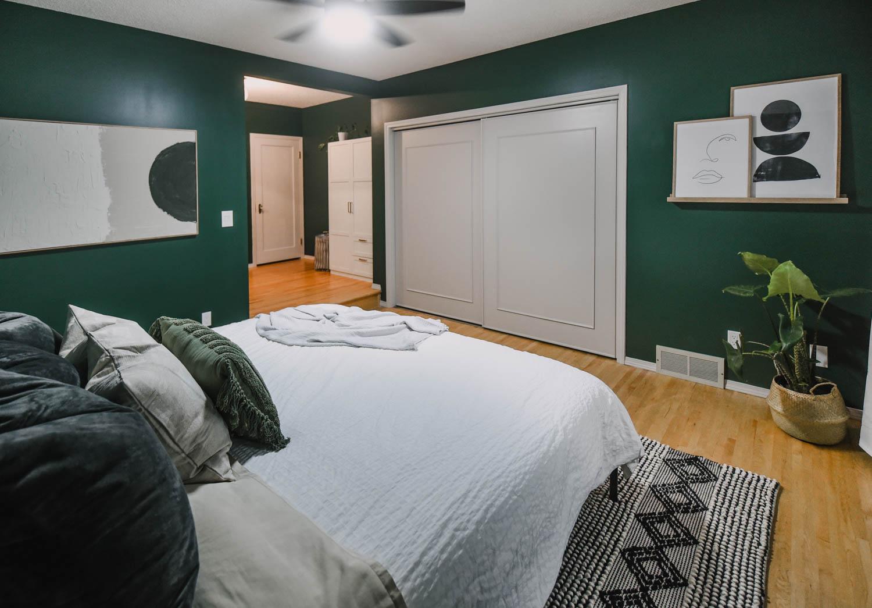Green Bedroom Decor Ideas