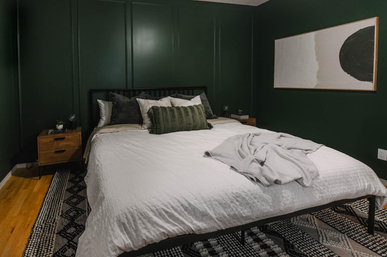 Green Bedroom Reveal